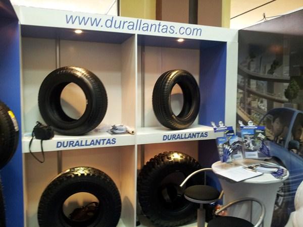Durallantas presente en el PANAMA MOTOR SHOW 2012