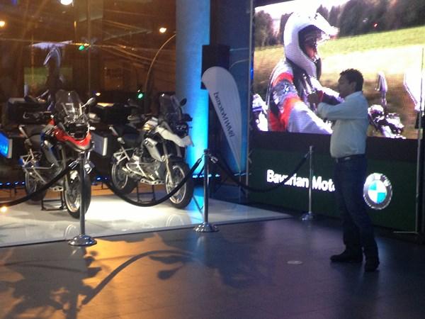 Lanzamiento de la Nueva Moto BMW