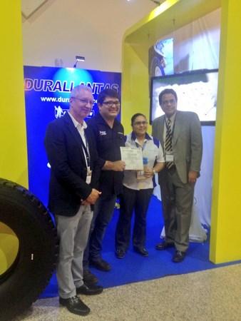 Durallantas participó en la II Expo Conferencia Minera
