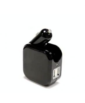 Foldable car wall charger 2in1 for mobile phone