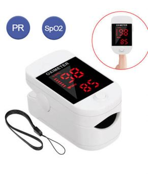 Portable Blood Oxygen Monitor Finger Pulse